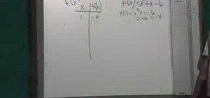 Graph a parabola