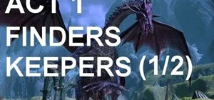 Complete the Dragon Age 2 sidequest 'Finders Keepers'