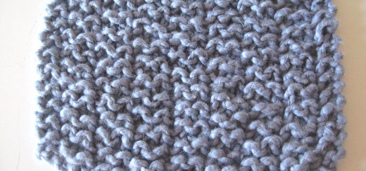 Knitting Rib Stitches : How to knit the garter rib stitch � knitting crochet