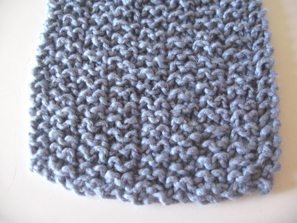 How to Knit the Garter Rib Stitch