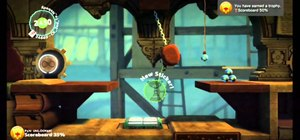 Find all the Prize Bubbles on level two of LittleBigPlanet 2