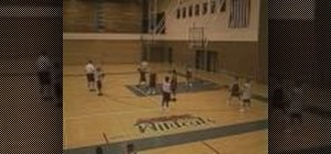 Practice defensive shell basketball drills