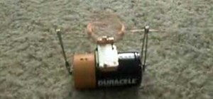 Make a simple toy motor