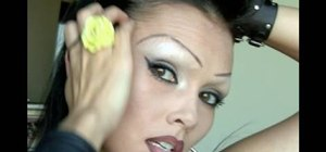 Create a Chola look with the illusion of shaved brows
