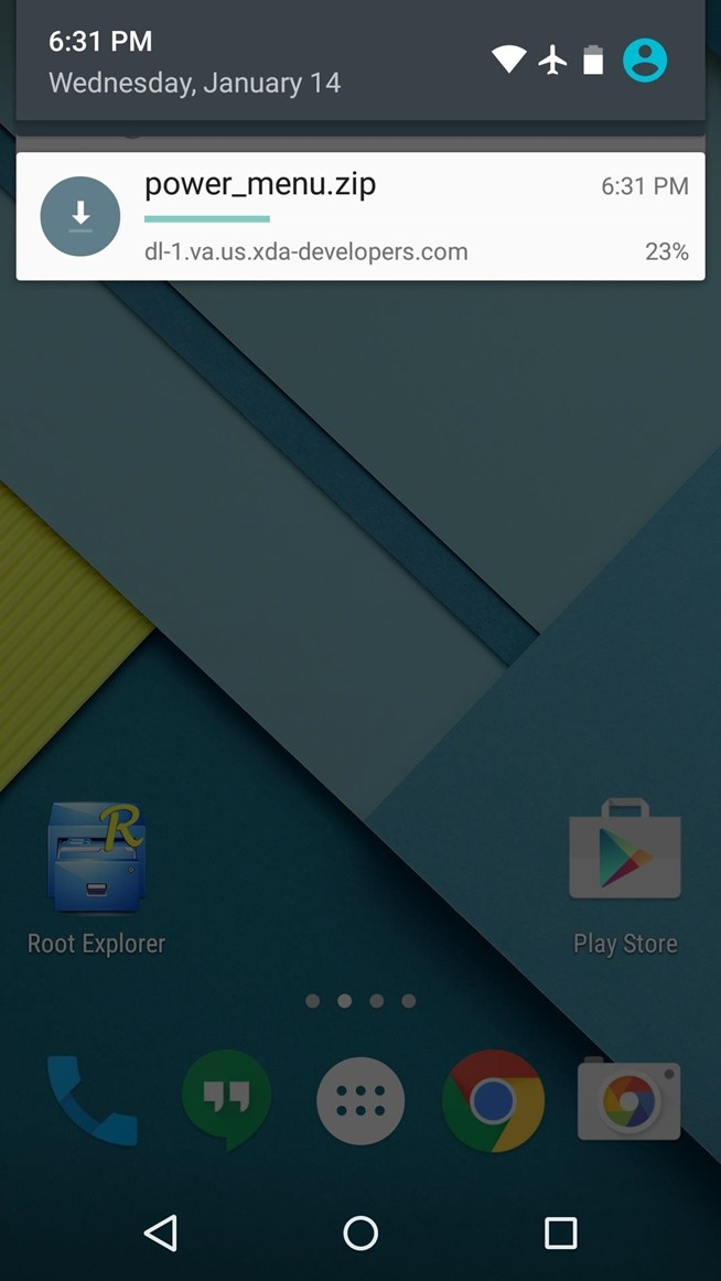 Bring Back Airplane Mode & Audio Toggles to Your Nexus 5's Power Menu