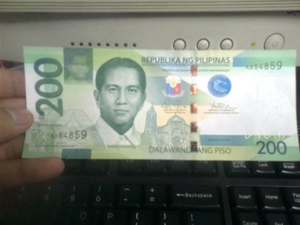The New Look of The Philippine Peso