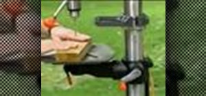 Use a drill press