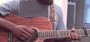 "Play Lil Wayne's ""Ms. Officer"" on acoustic guitar"