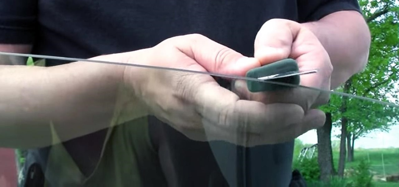 Dull Knife? Use Your Car Window to Make It Sharp Again