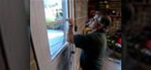 Repair door glass with This Old House