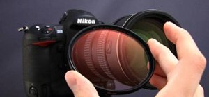 Use a UV or haze filter for SLR cameras