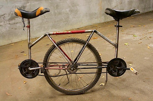 A Unicycle Built For Two