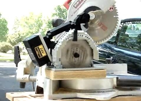 LEGO Circular Saw Really Works!
