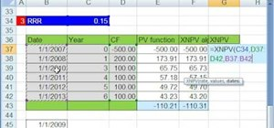 Value assets & analyze cash flows in Microsoft Excel