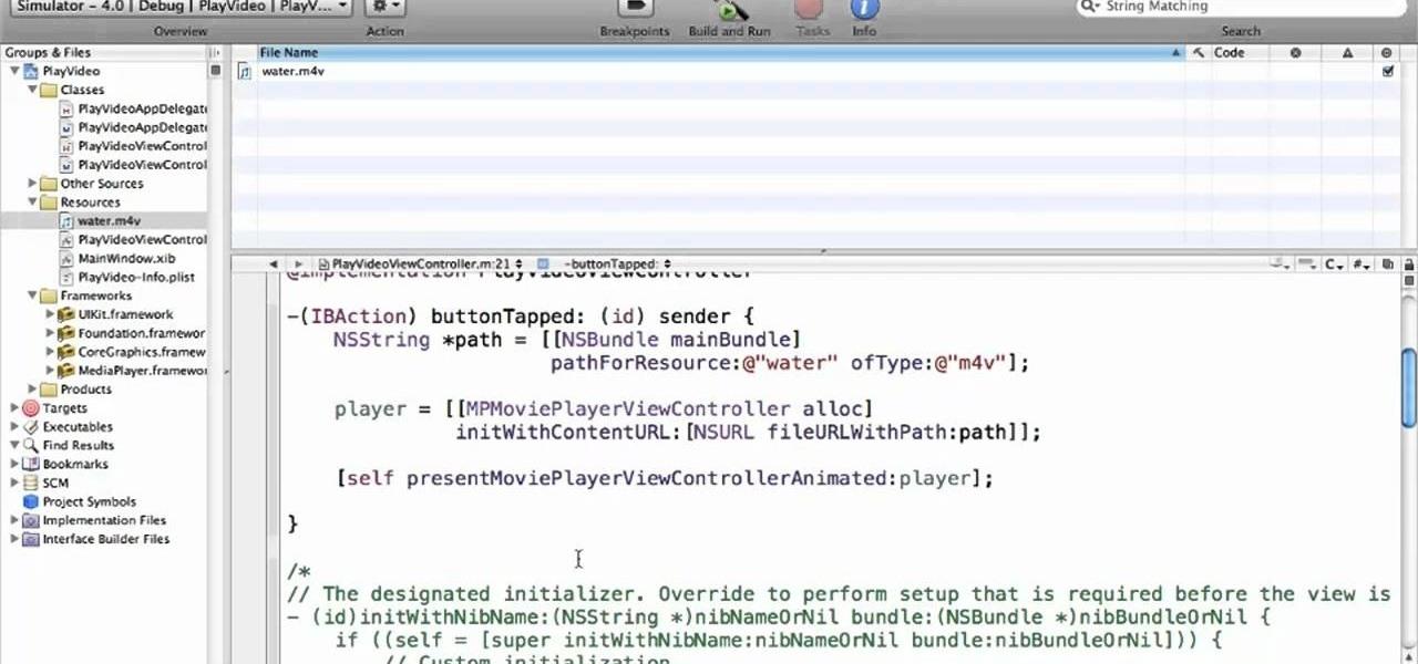 dejting app iphone xcode