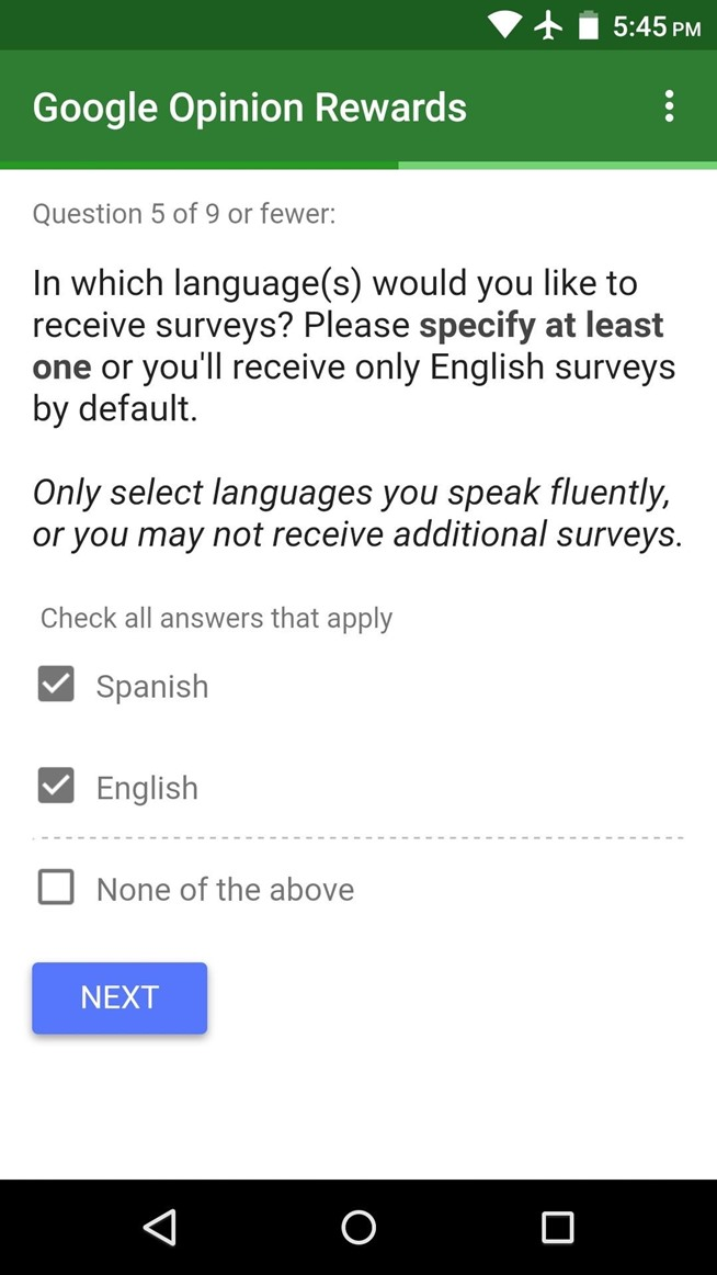 google play credit surveys how to earn free google play credits on android by filling 8359