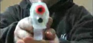 Make an airsoft gun silencer