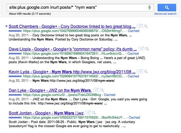How to Search for Google+ Posts & Profiles with Google