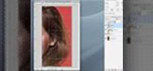 Work with hair in Photoshop CS3