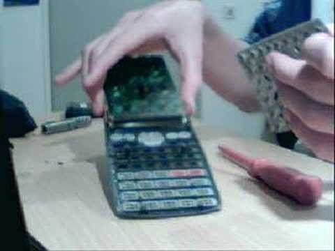 Strip your Casio fx-82MS calculator