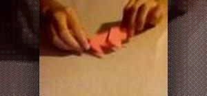 Origami an elephant