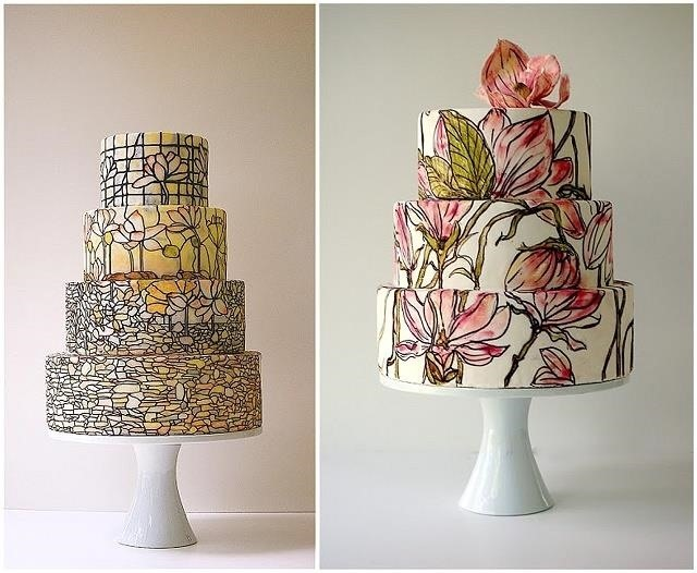 Art Nouveau Cake Designs : These Cake Hacks Are So Damn Pretty You ll Have to Eat ...
