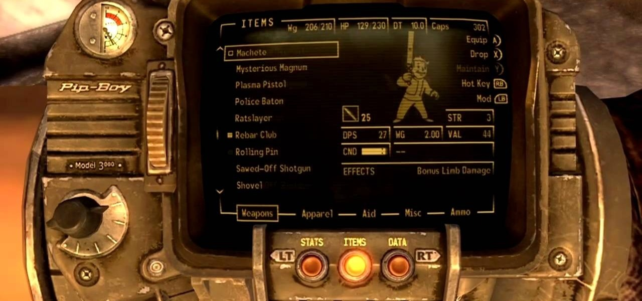 How to Find Lucky, the rare weapon  357 magnum in Fallout