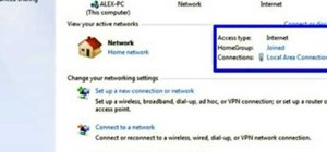 Set up a Windows 7 HomeGroup network