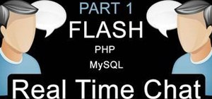 Code a real-time chat application using Adobe Flash CS3