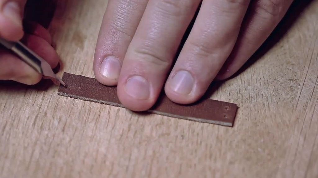 How to Make a Leather Ring