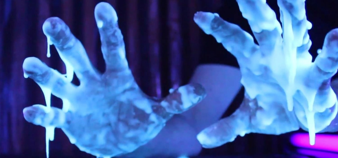Make Glowing Oobleck from Potatoes & Tonic Water