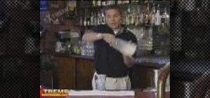 vertical toss grab reverse grip
