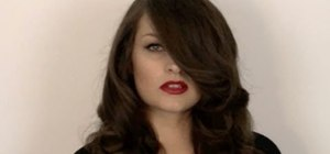 Create a sultry and retro Veronica Lake makeup look
