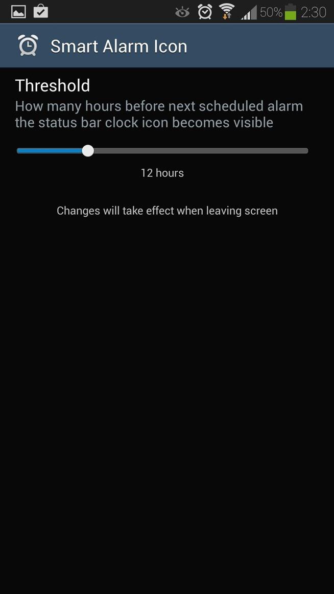 how to turn on status bar samsung glaxy s9