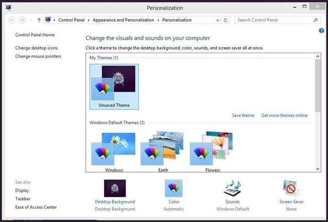 how to add a custom background image to your windows 8