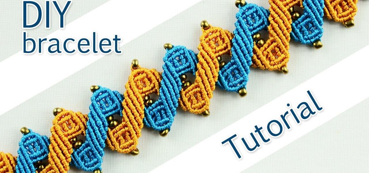 Make a Double Zigzag Bracelet