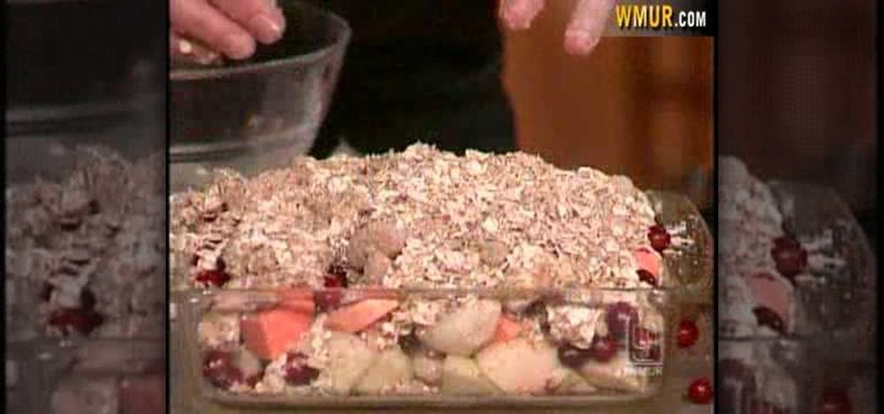 How to Make apple & sweet potato crisp « Dessert Recipes
