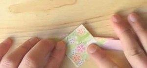 Fold an origami phoenix