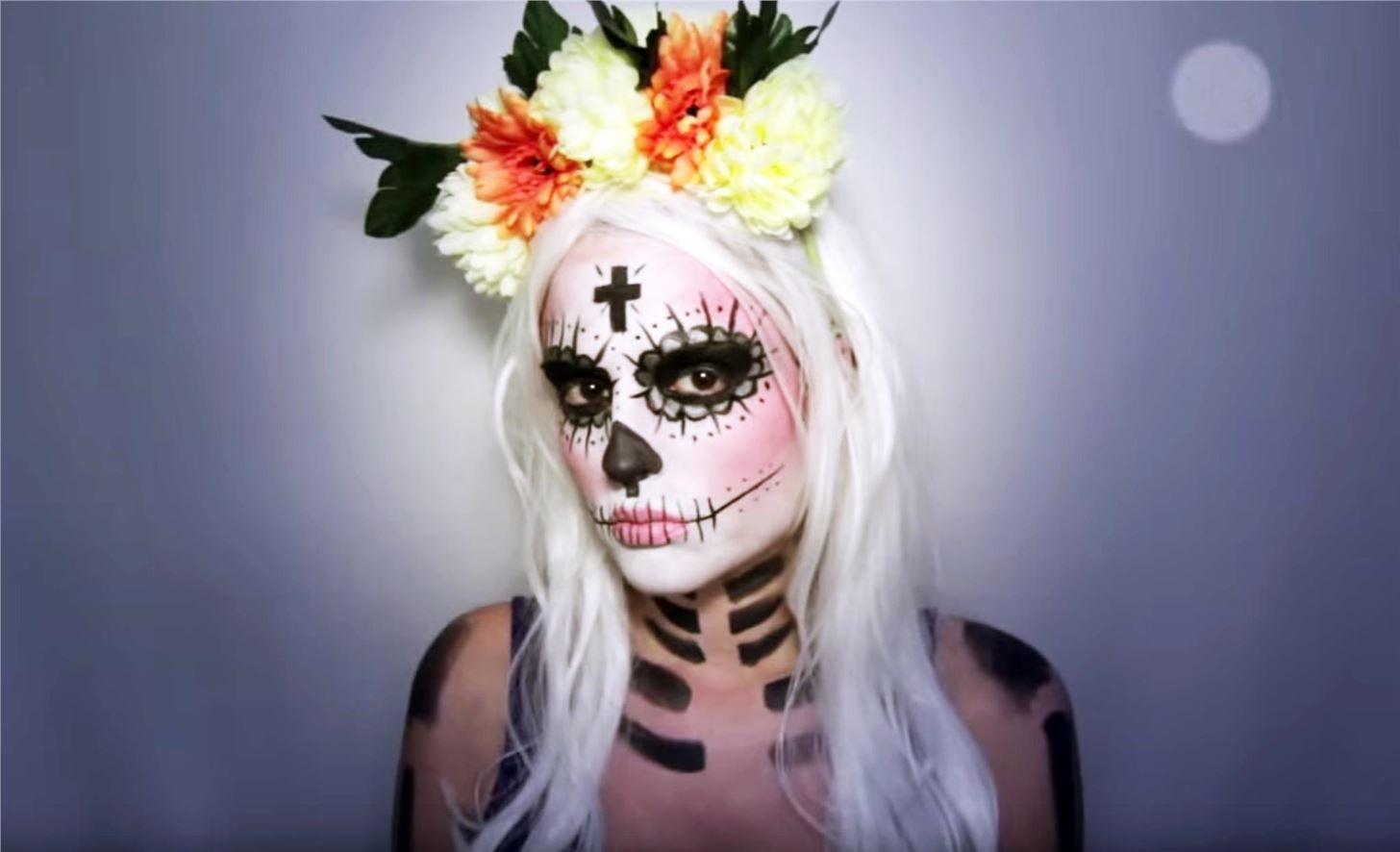 8full body look who says the sugar skull