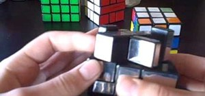 Solve the Mirror Blocks puzzle by Rubik's Cube