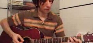 """Play """"Big Me"""" by Foo Fighters on acoustic guitar"""