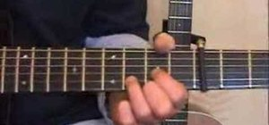 Use blues style strumming