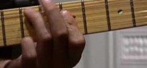 Play Jimi Hendrix style rhythm guitar