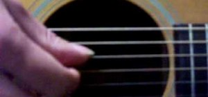"""Finger pick the verse of Metallica's """"Fade to Black"""""""