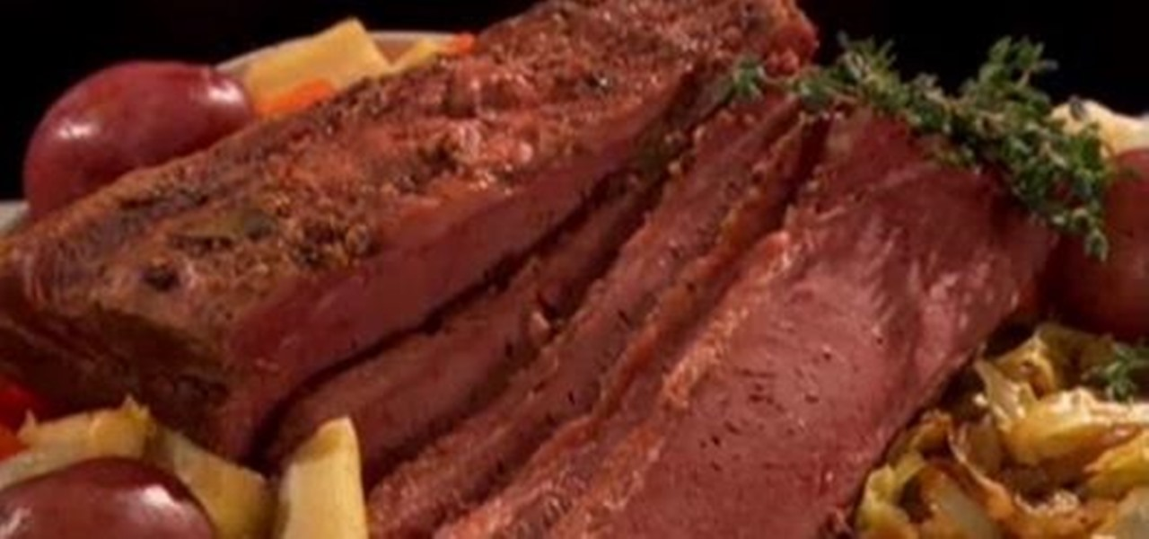 Make Irish Corned Beef & Cabbage for St. Patrick's Day