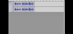 Make a voice sound deeper or higher in Audacity