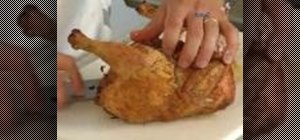 Cook a classic roast chicken in the oven