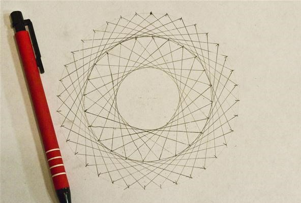 Line Design String Art : How to create concentric circles ellipses cardioids