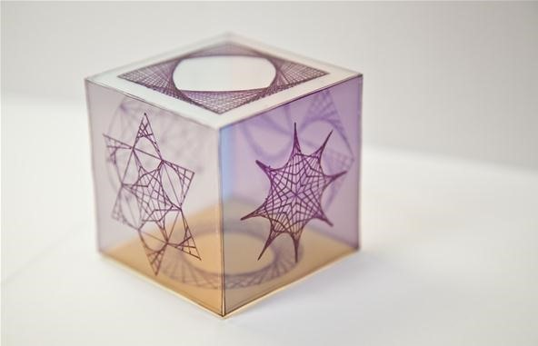 Mathematical Curve Stitching Takes on the Rubik's Cube