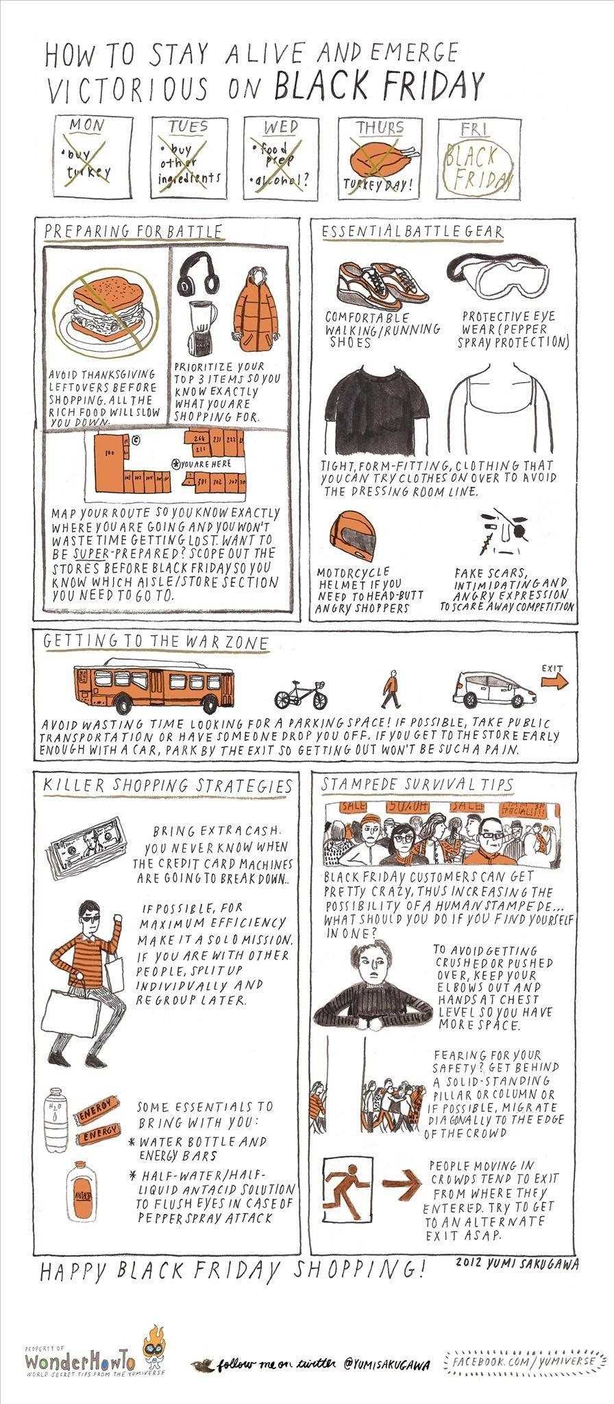 How to Stay Alive & Emerge Victorious on Black Friday